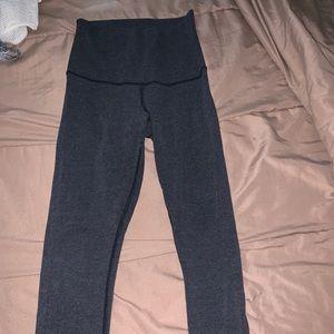 Lululemon grey leggings size 6
